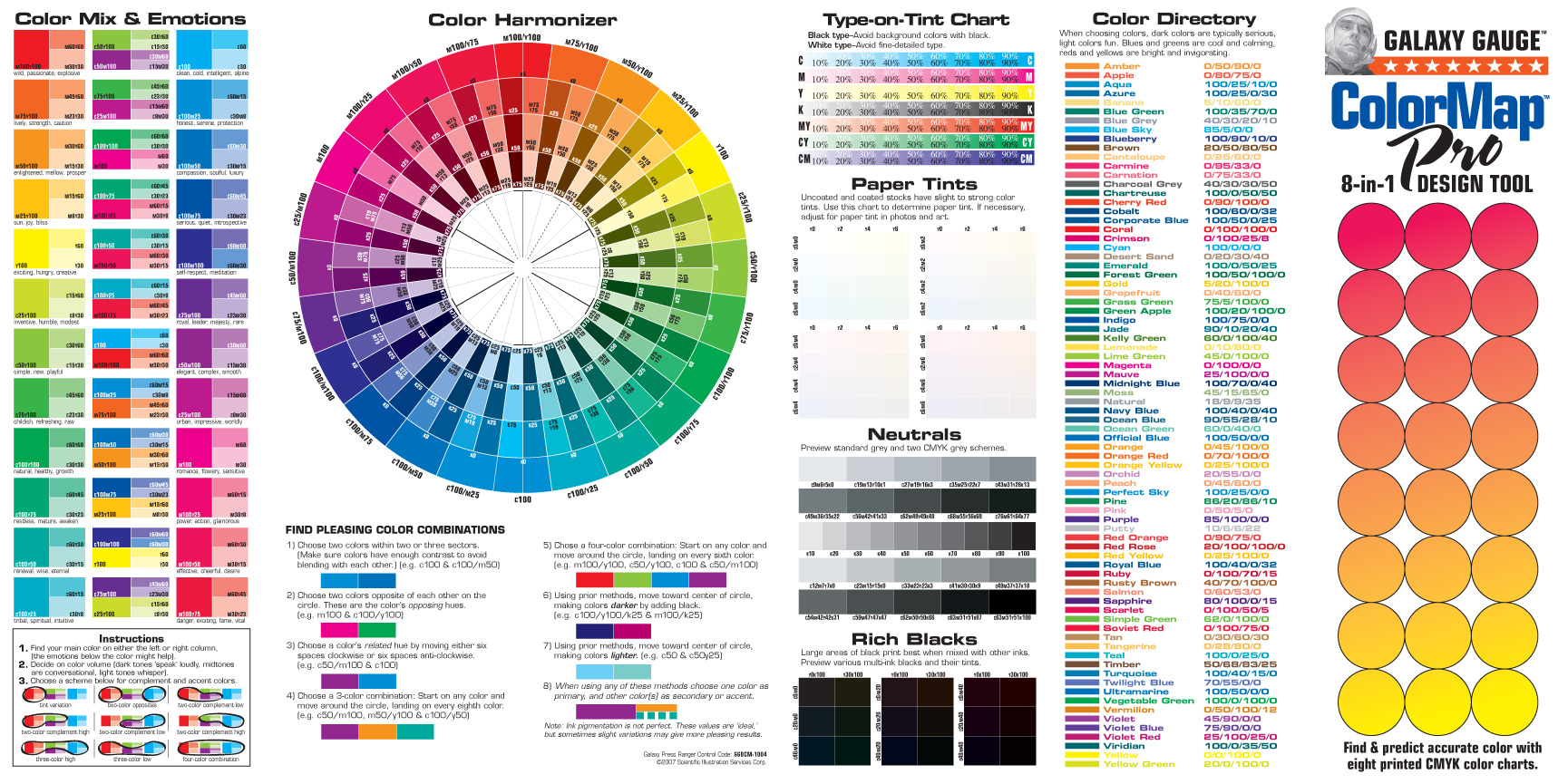 Go Galaxy - Html color map